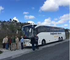 Busudlejning hos Englunds Busser, tilbud på bustransport