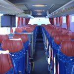 Buskørsel & Bustransport | Slagelse, København & Sjælland, Mercedes bus indvendig