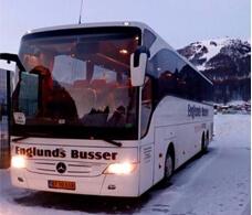 Busudlejning hos Englunds Busser, tilbud på bustransport, bus rejser